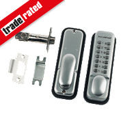 Mechanical Medium Duty Push Button Lock Tubular Latch